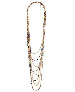 Cascading color beads by Forever 21
