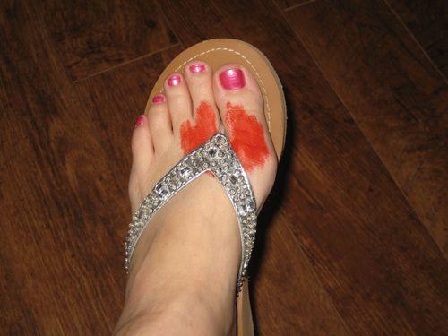 But, isn't that a lovely flip flop?
