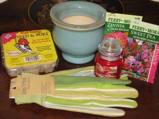 Mother's Day Garden Basket