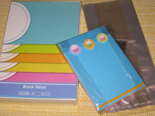 Cupcake notecards