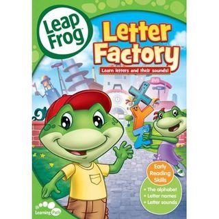 Leap Frog Letter Factory