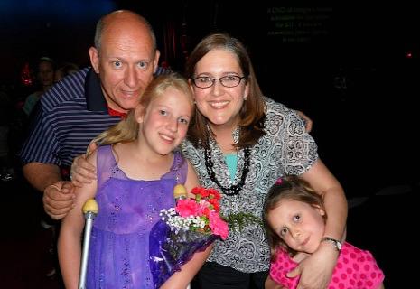 Family dance recital