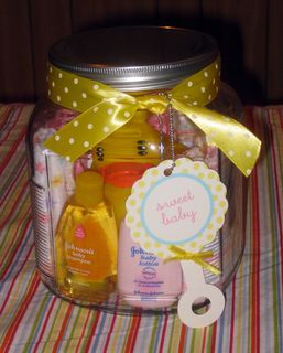 Jar o baby goodies