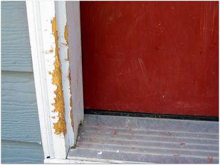 Mangled door