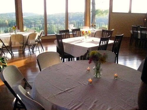 Jenn's 40th birthday tables
