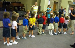 Kindergarten line
