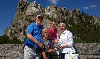 Nana Pops Mt Rushmore