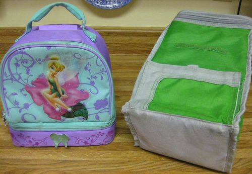 Lunchboxes after are clean and bright