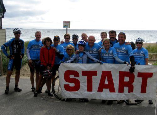 KAA's The Great Bike Ride--Start!
