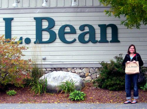 Day 1 OOB to Freeport ME LL Bean shopping