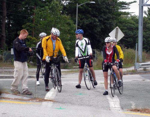 Day 2 bike ride Maine bike 1