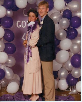 1988 Homecoming dance picture