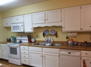 Kitchen before uppercase living