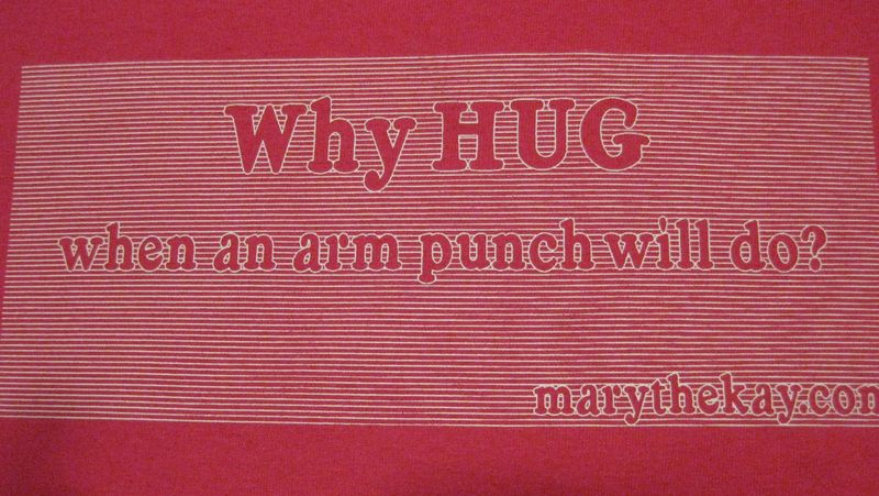 Why hug tshirts up close