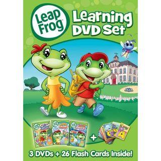 Leap Frog Learning DVD Set