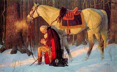 Washington's Prayer at Valley Forge