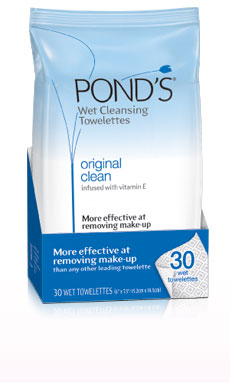 Ponds Wet Cleansing Towlettes