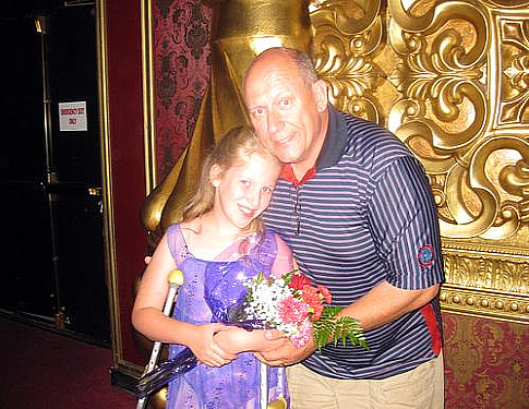 Becca daddy flowers