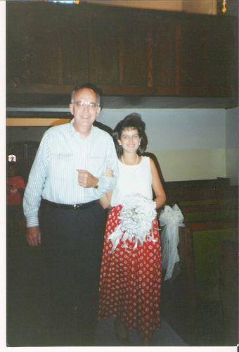 Pops and mk bride