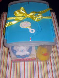Box o baby basics wrapped