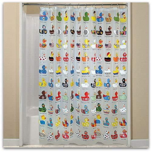 Kmart duckie shower curtain