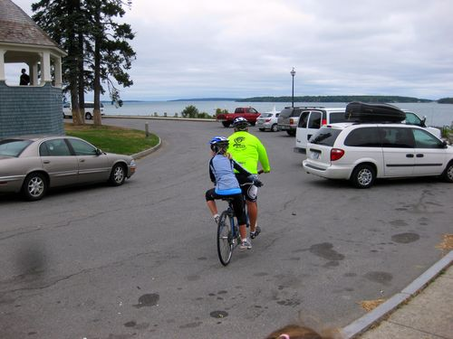 Day 1 OOB to Freeport ME riding in to lunch