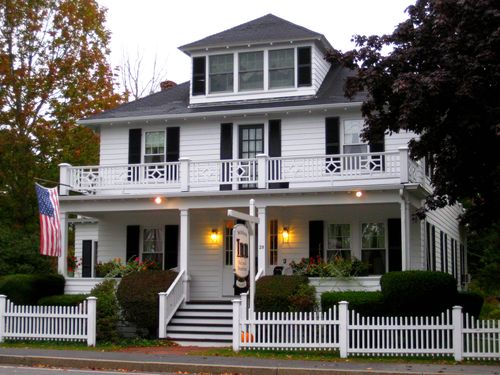 Day 1 OOB to Freeport ME beautiful inn