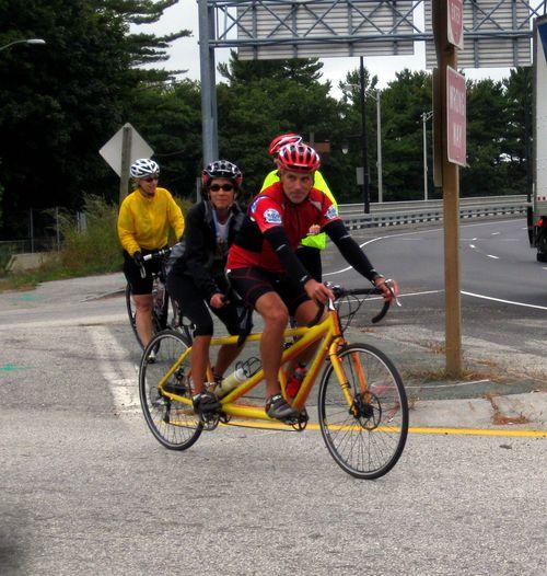 Day 2 bike ride Maine bike coopers