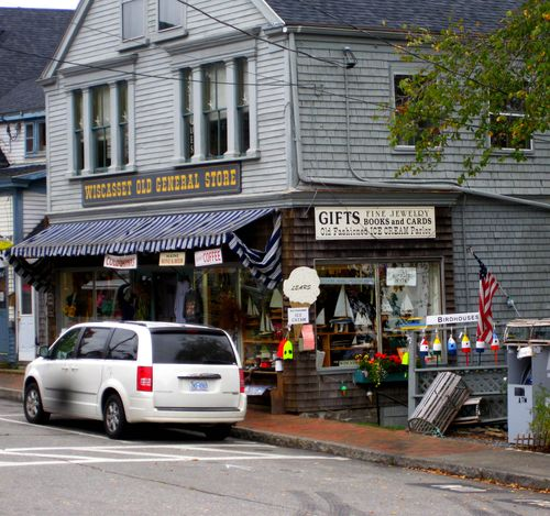 Day 2 bike ride Maine wiscasset store