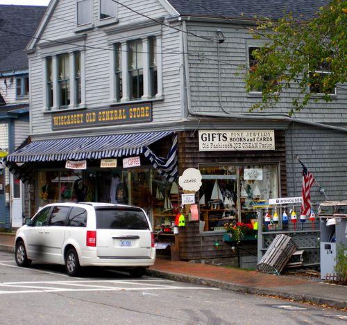 Day 2 bike ride Maine wiscasset store