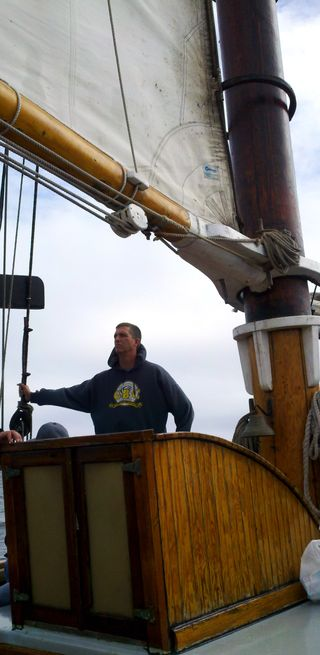Day 3 appledore schooner oh captain our captain