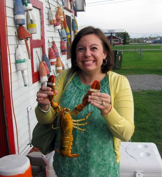 Day 4 Ellsworth the lobster pot adriane