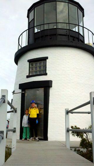 Day 3 owls head lighthouse