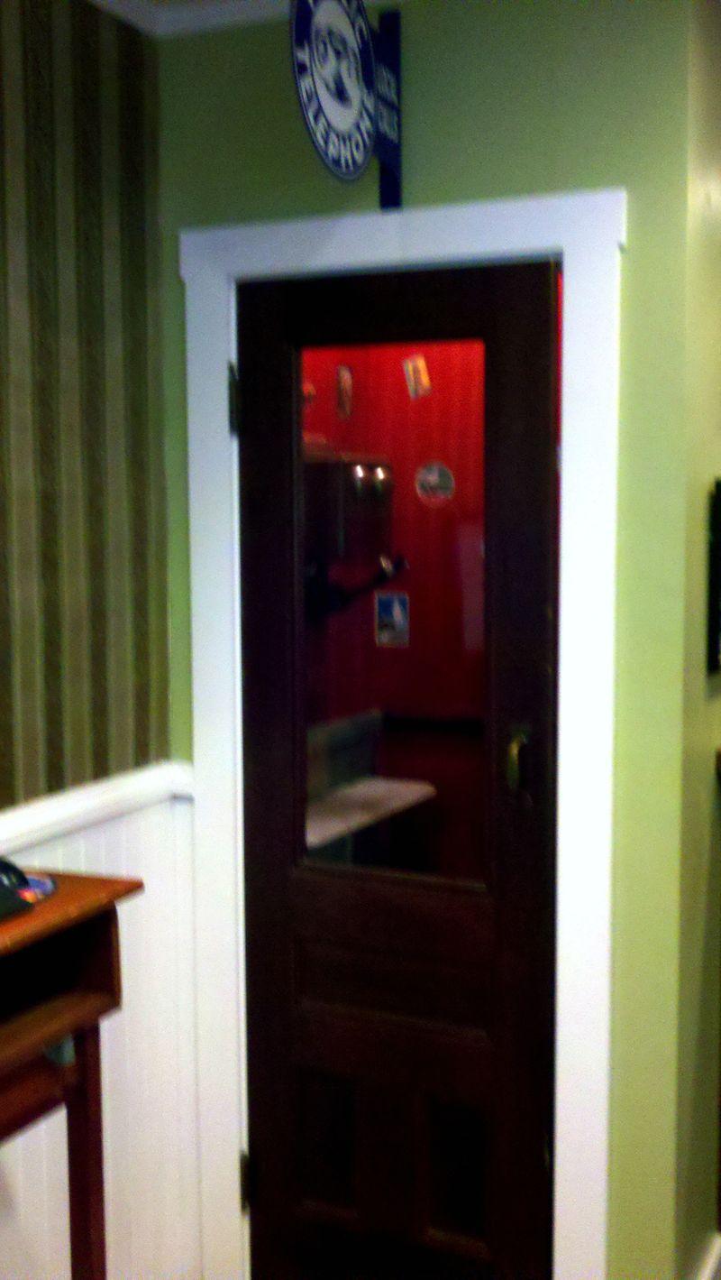 Day 3 whitehall inn phone booth