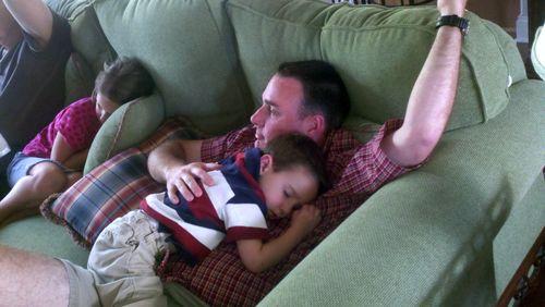 Sleepy nephew