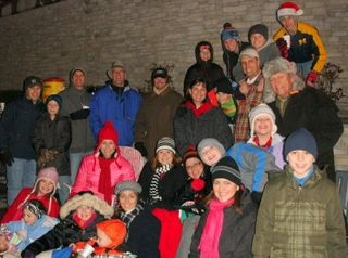 Christmas adoration parade