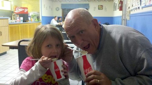 Daddy daughter weekend rootbeer freezes