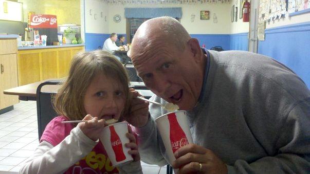 Daddy daughter weekend rootbeer freezes