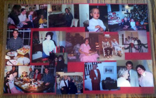 Christmas photo placemats 4