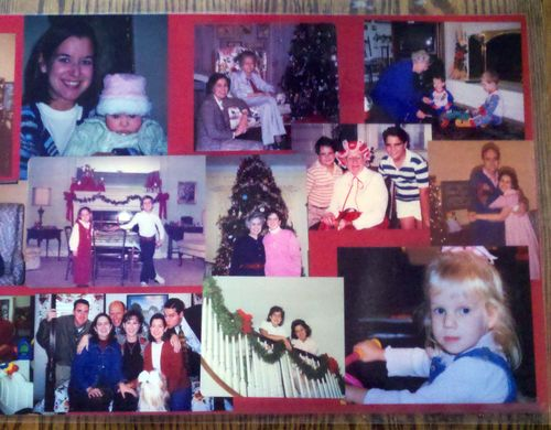 Christmas photo placemats 2