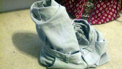 Pants that defy gravity