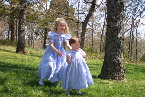 Sisters on Easter