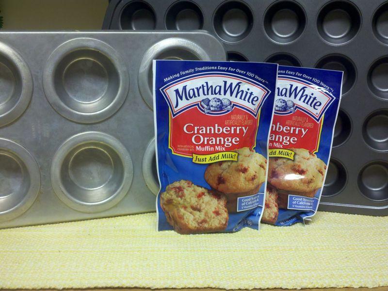 Martha white muffin mix
