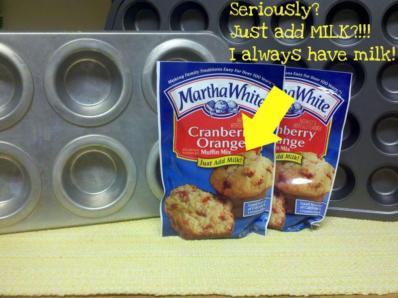 Martha white muffin mix ingredients