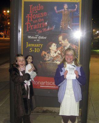 Little House Musical autographs