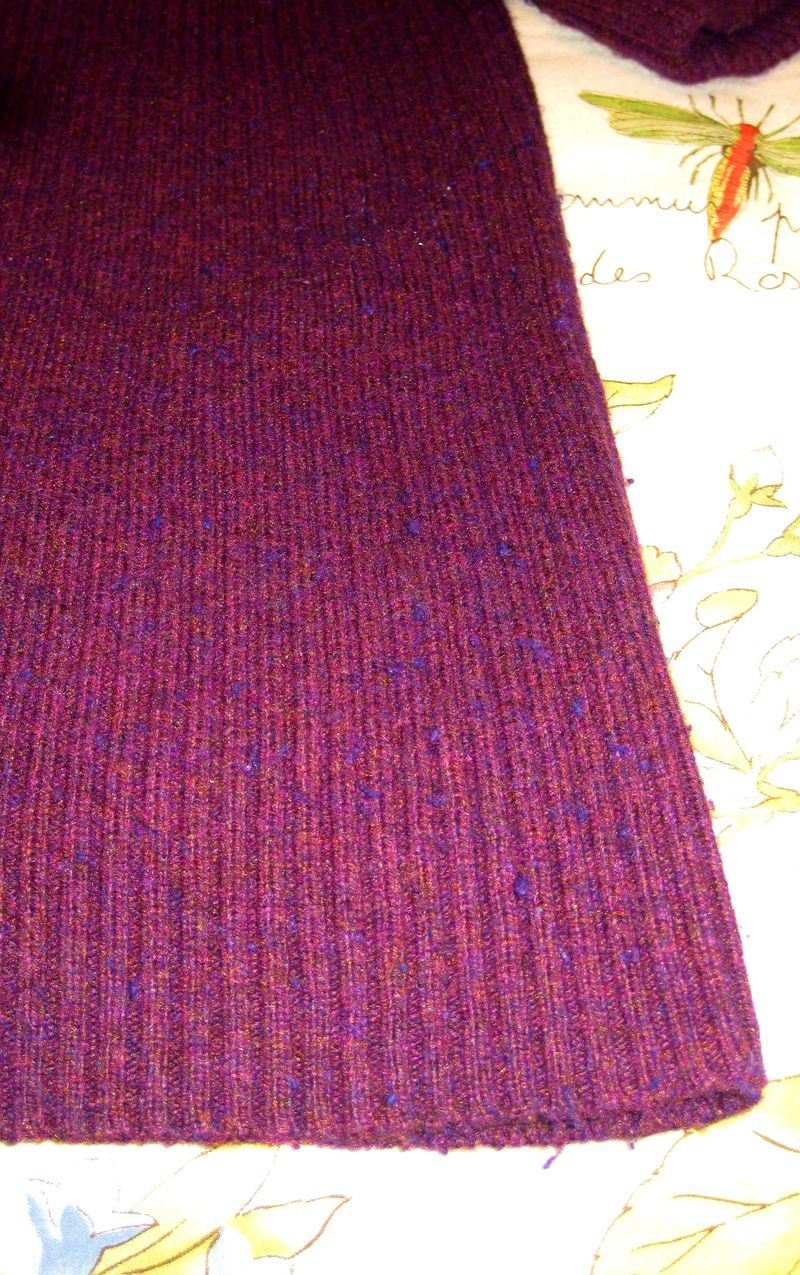 Sweater pilling before
