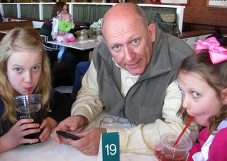 Valentines lunch with daddy and girls