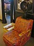 Vintage hair dryer chair