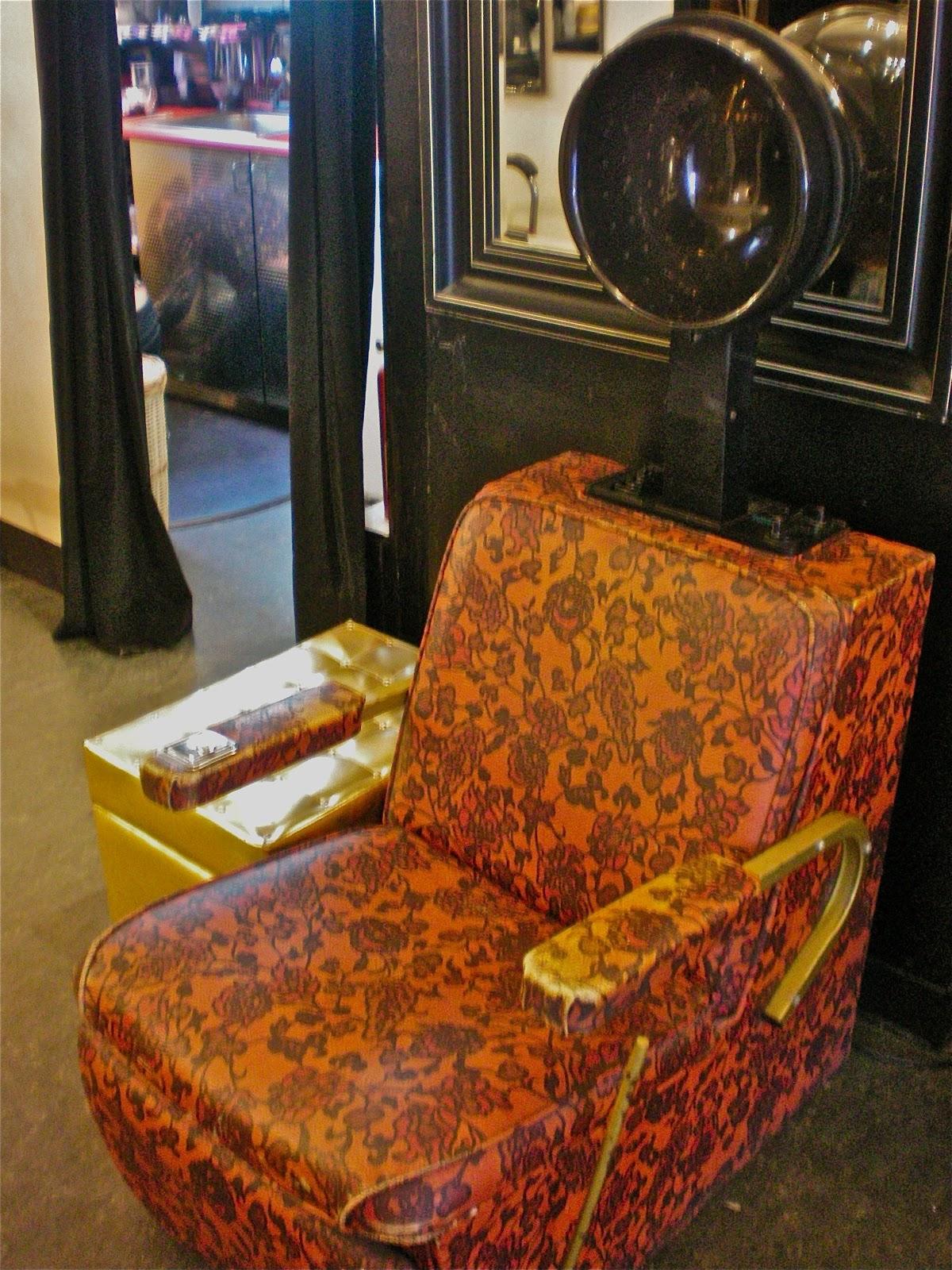 Vintage Hair Dryer Chair