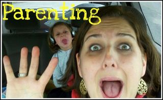 Crazy mama Parenting button
